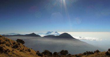 Wulkan Santa Maria Gwatemala