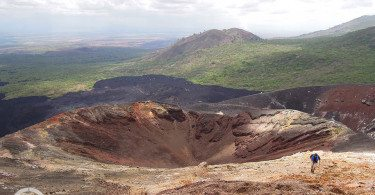 krater Cerro Negro Nikaragua