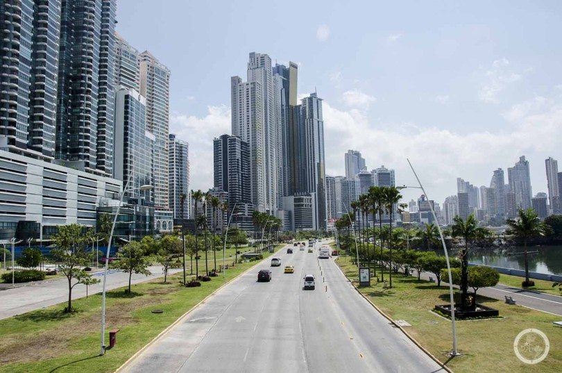 Panama City -skyscrapers