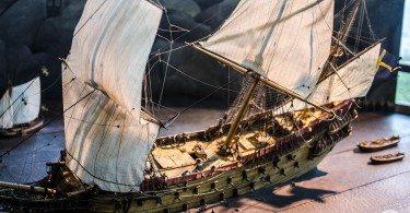 model okrętu Vasa