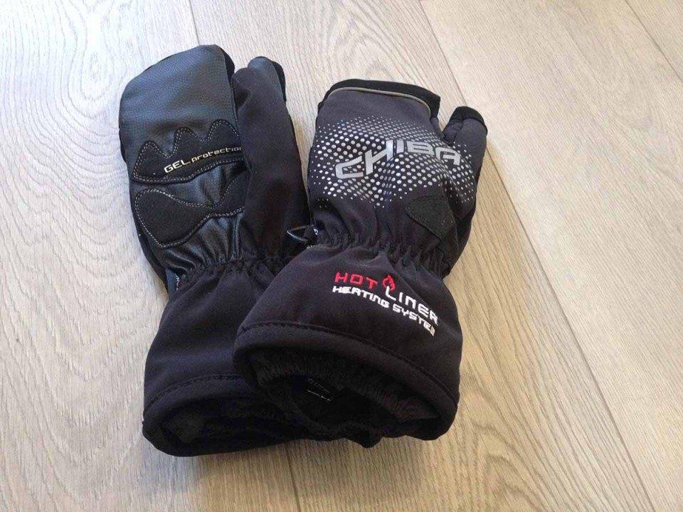 Rękawiczki trzypalczaste rowerowe
