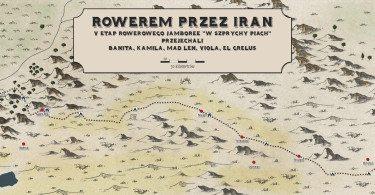 rowerem przez iran