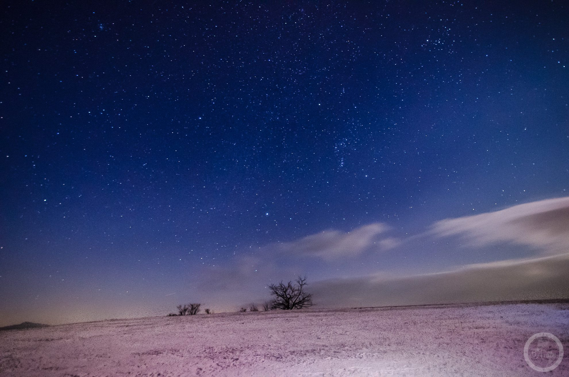 Nocne niebo nadPieninami Małymi