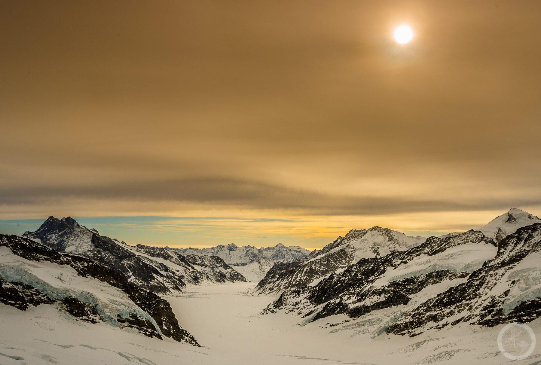 Przełęcz. Jungfraujoch, Szwajcaria