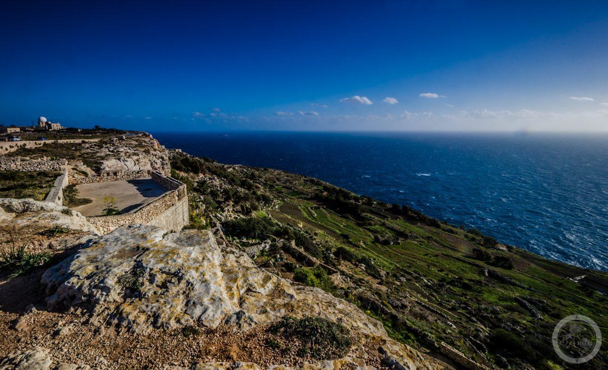 Tarasy podDingli Cliffs, Malta