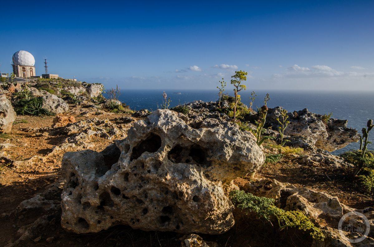 Radar naskraju Dingli Cliffs, Malta