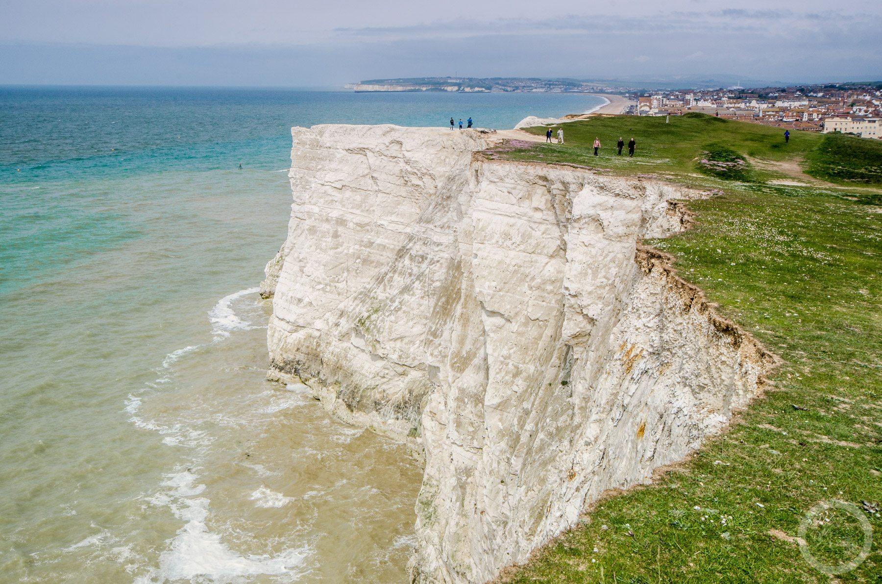 Seaford cliffs