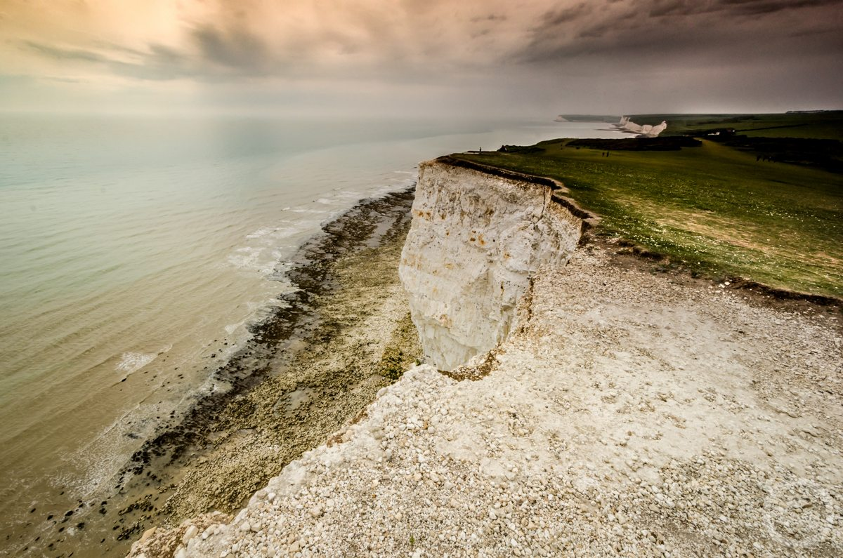 Seven Sisters cliffs lighthouse