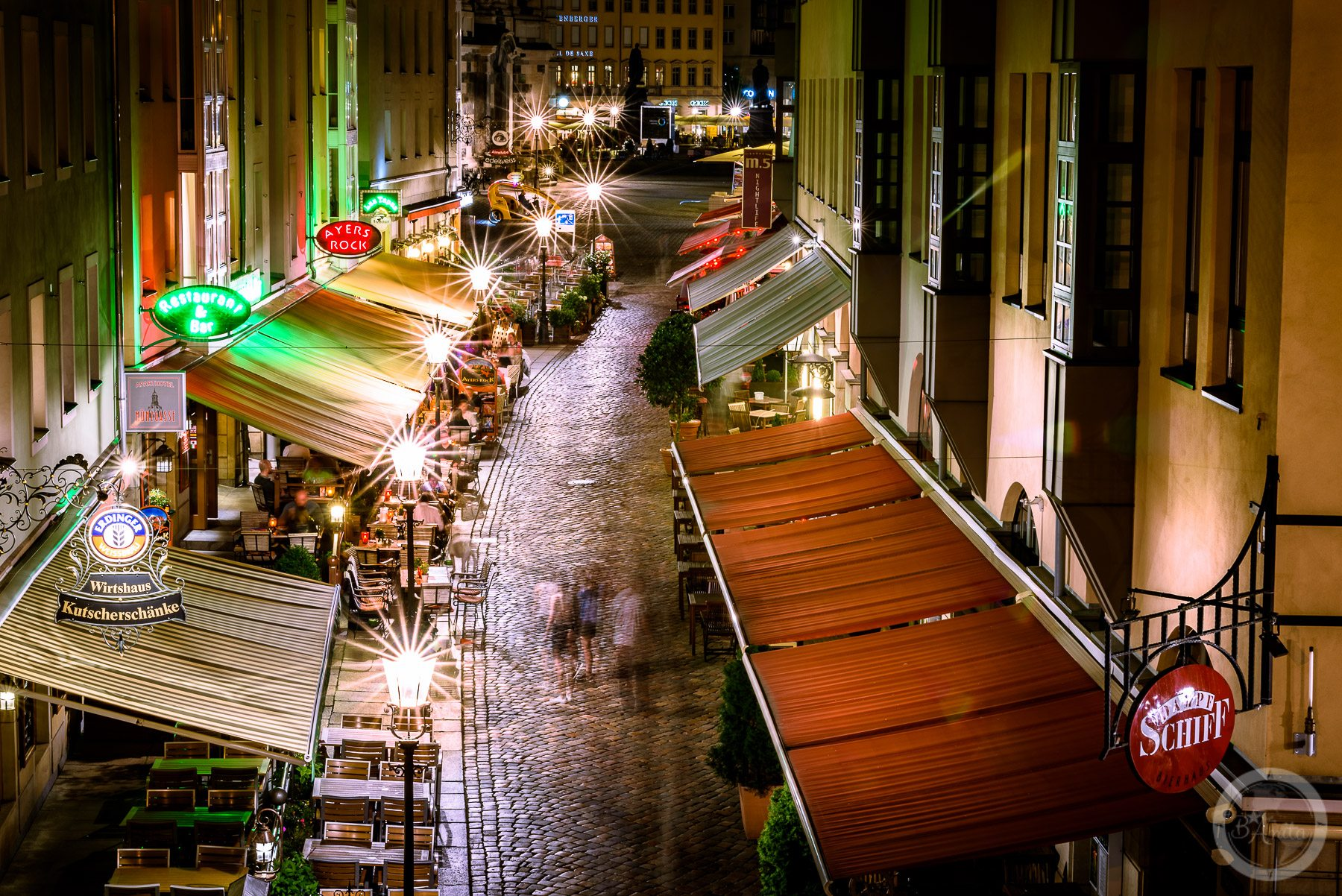 Gwarna uliczka Münzgasse
