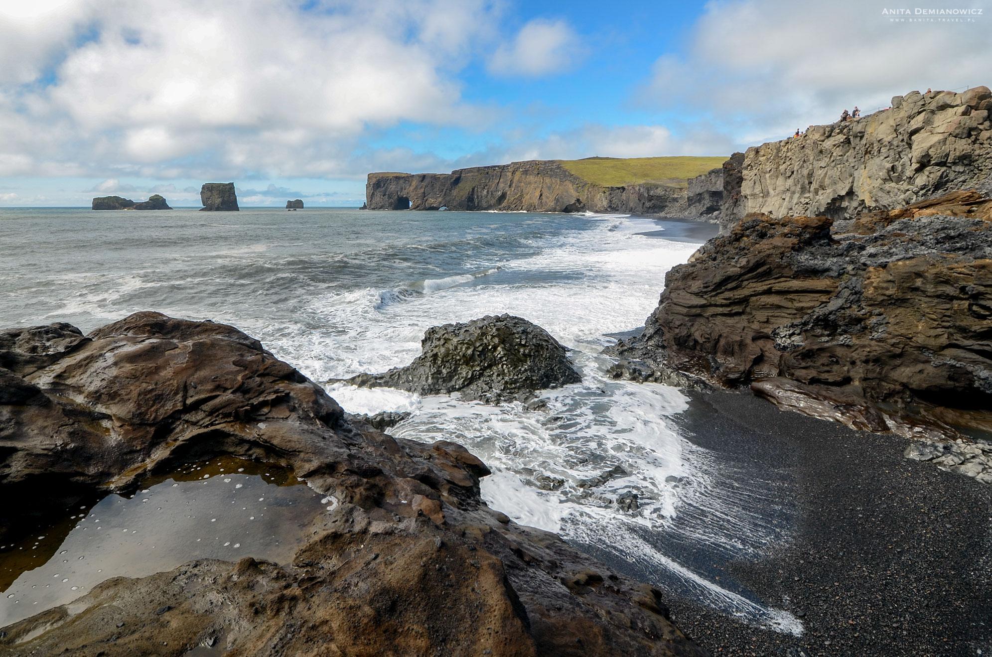 Półwysep Dyrholaey, Islandia, Anita Demianowicz
