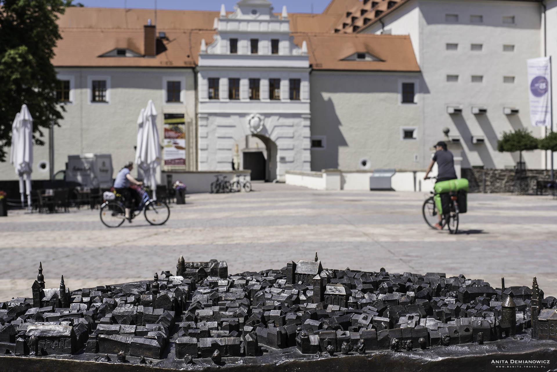 Zamek w mieście Freiberg
