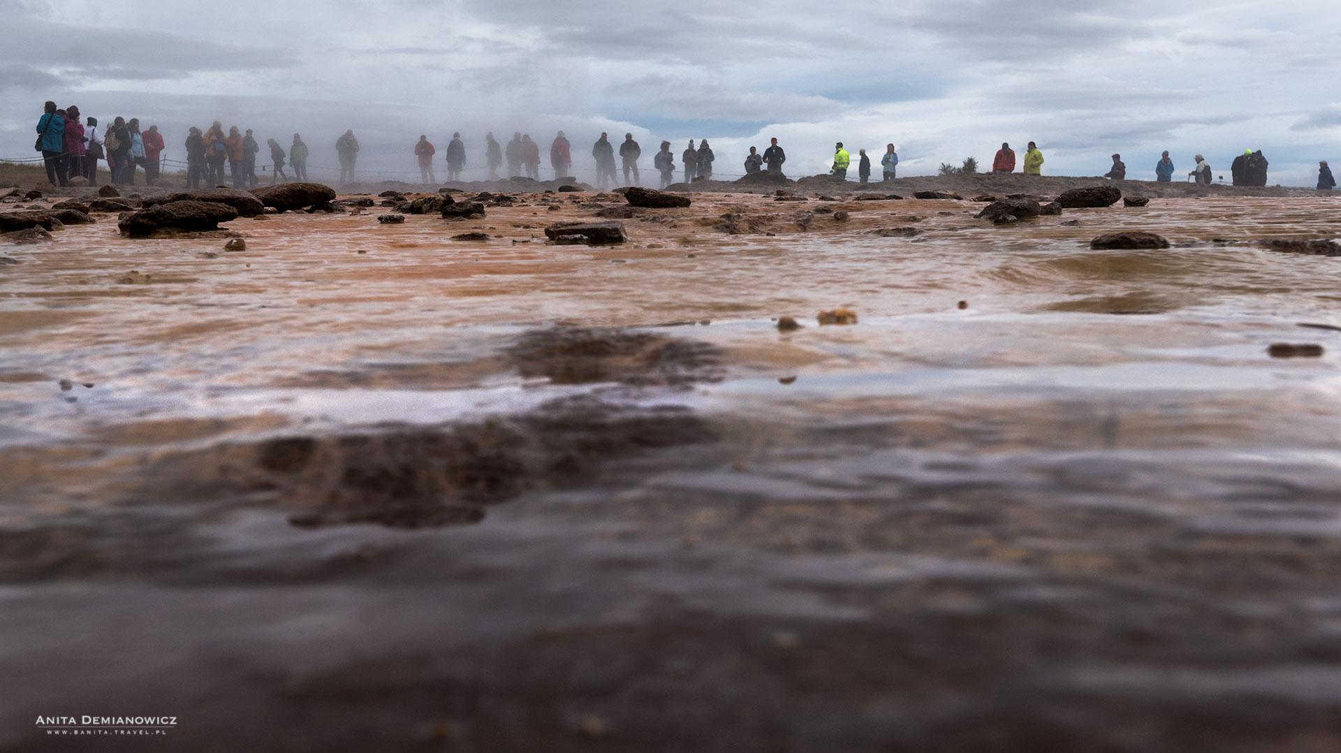 Geysir, Golden Circle, Islandia, Anita Demianowicz