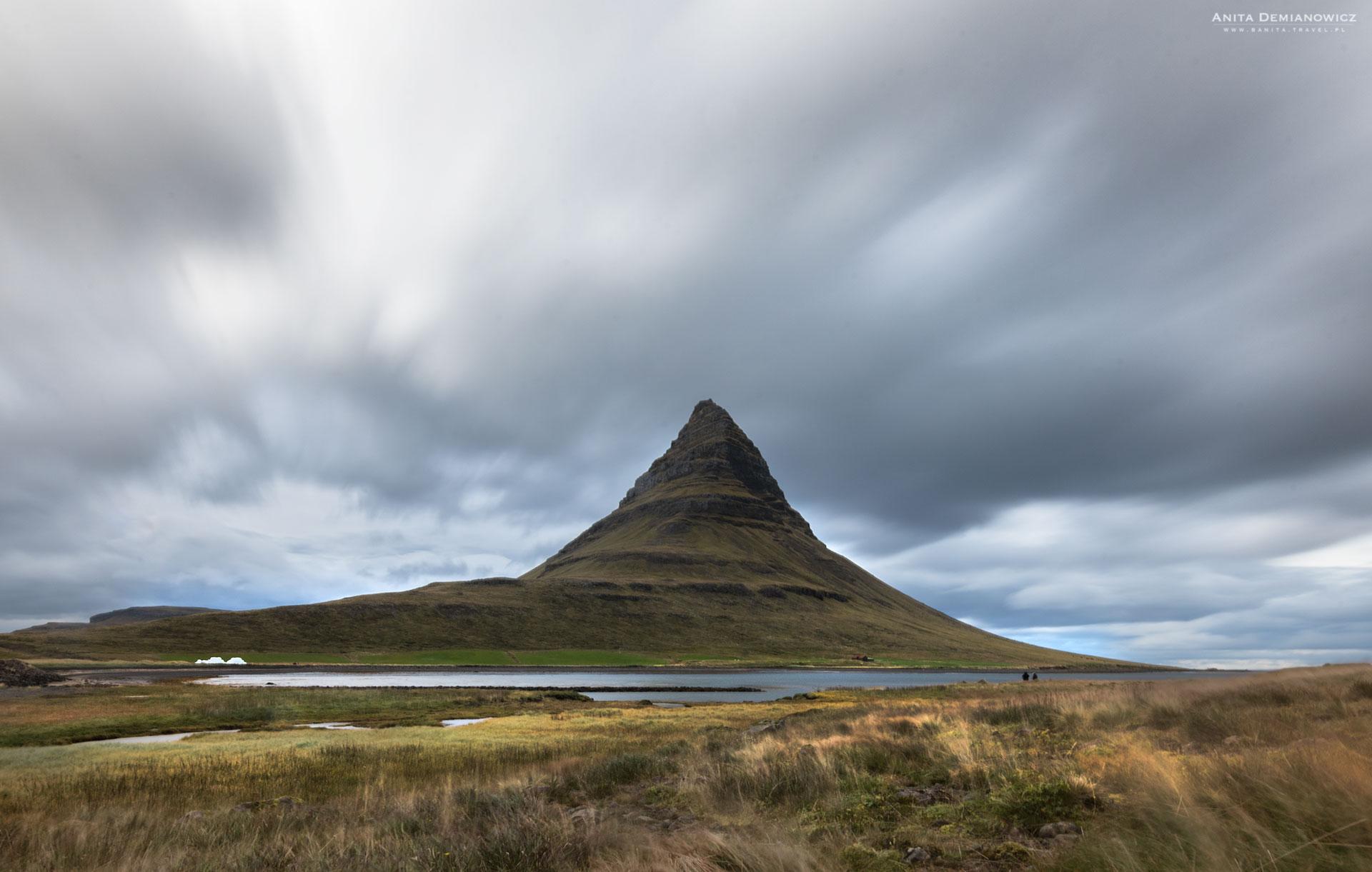 Kirkjufel Mountain, Islandia, Anita Demianowicz