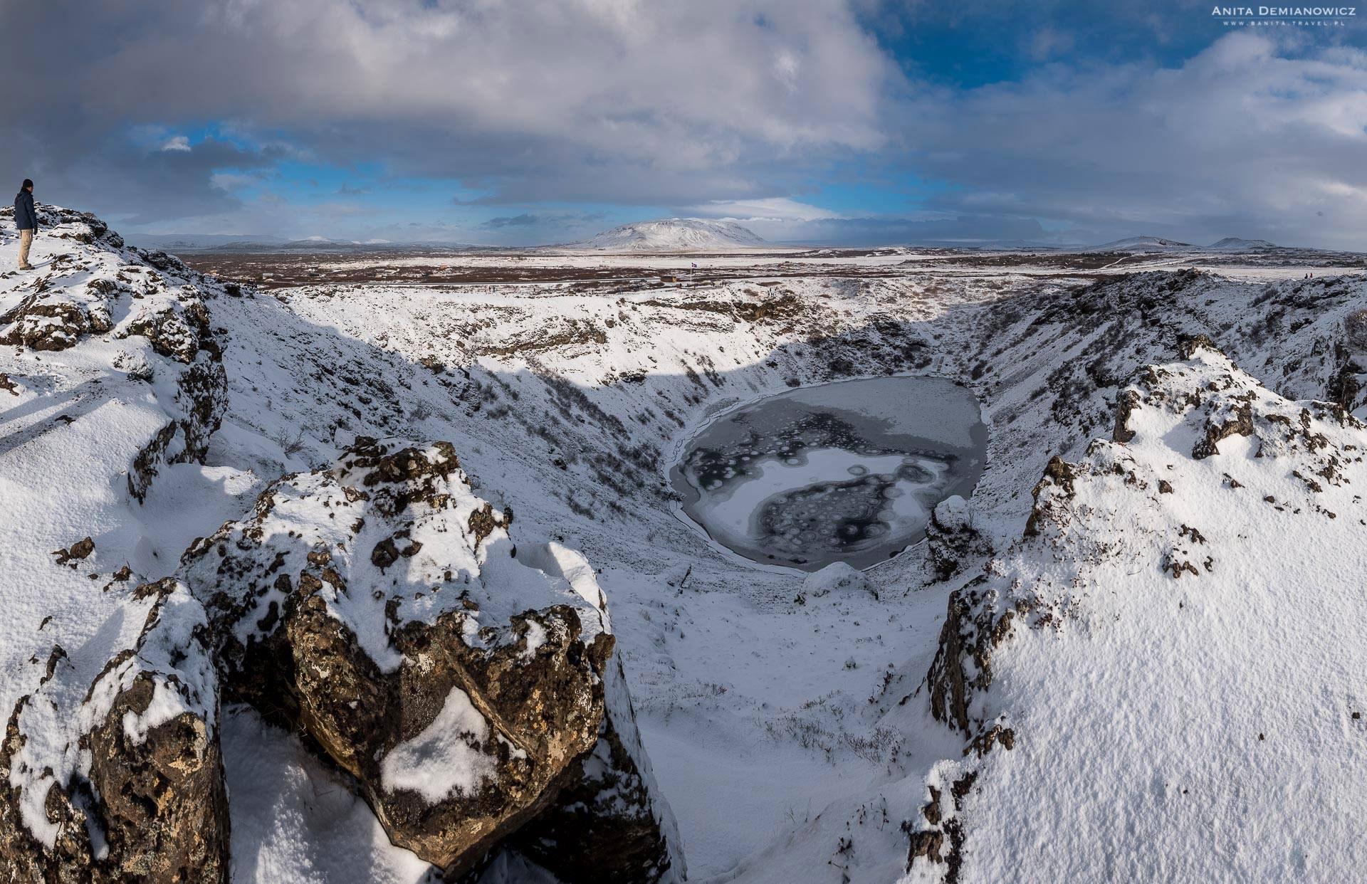 Krater Kerid, Islandia, Anita Demianowicz