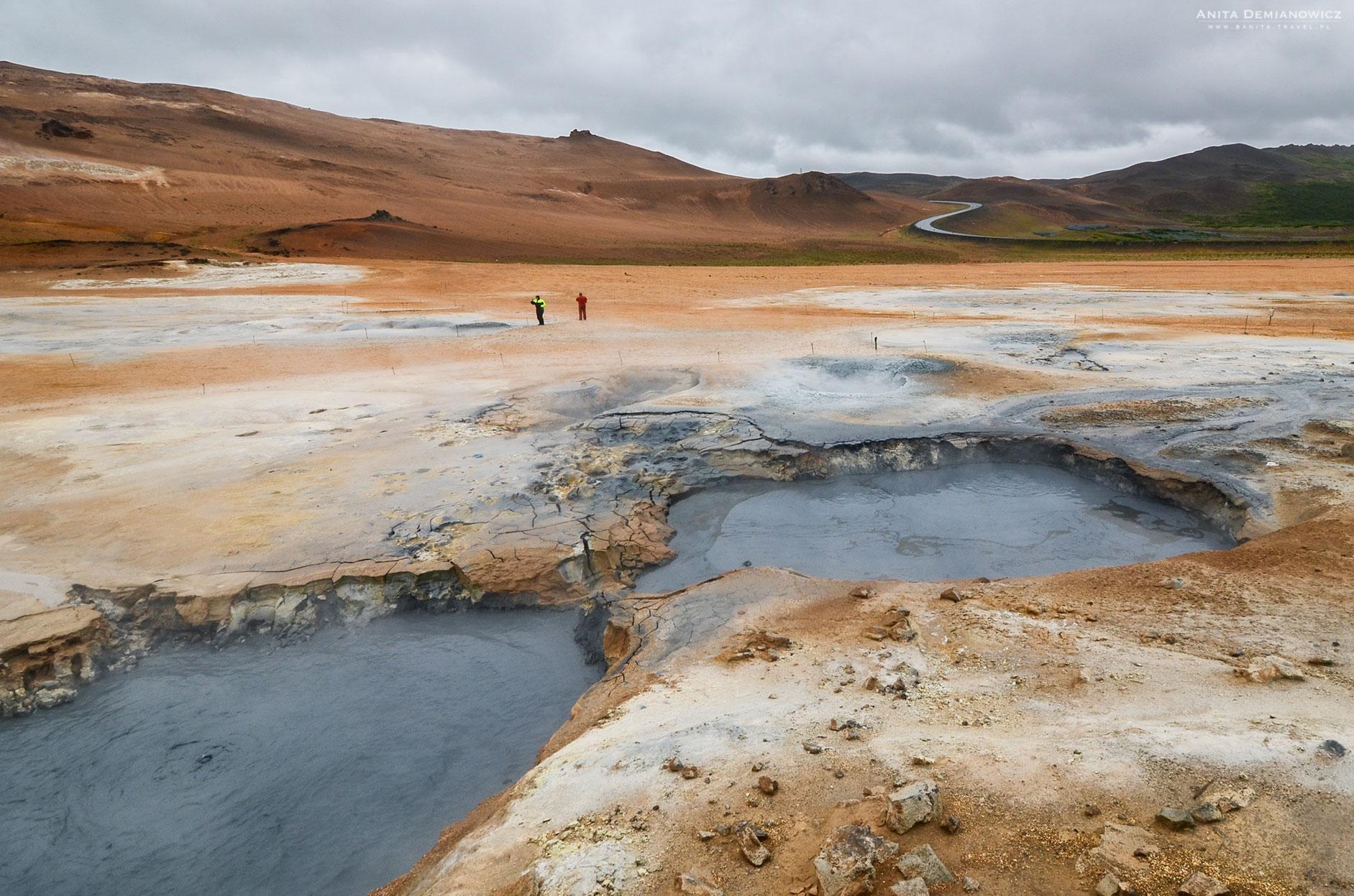 Namafjall, Islandia, Anita Demianowicz