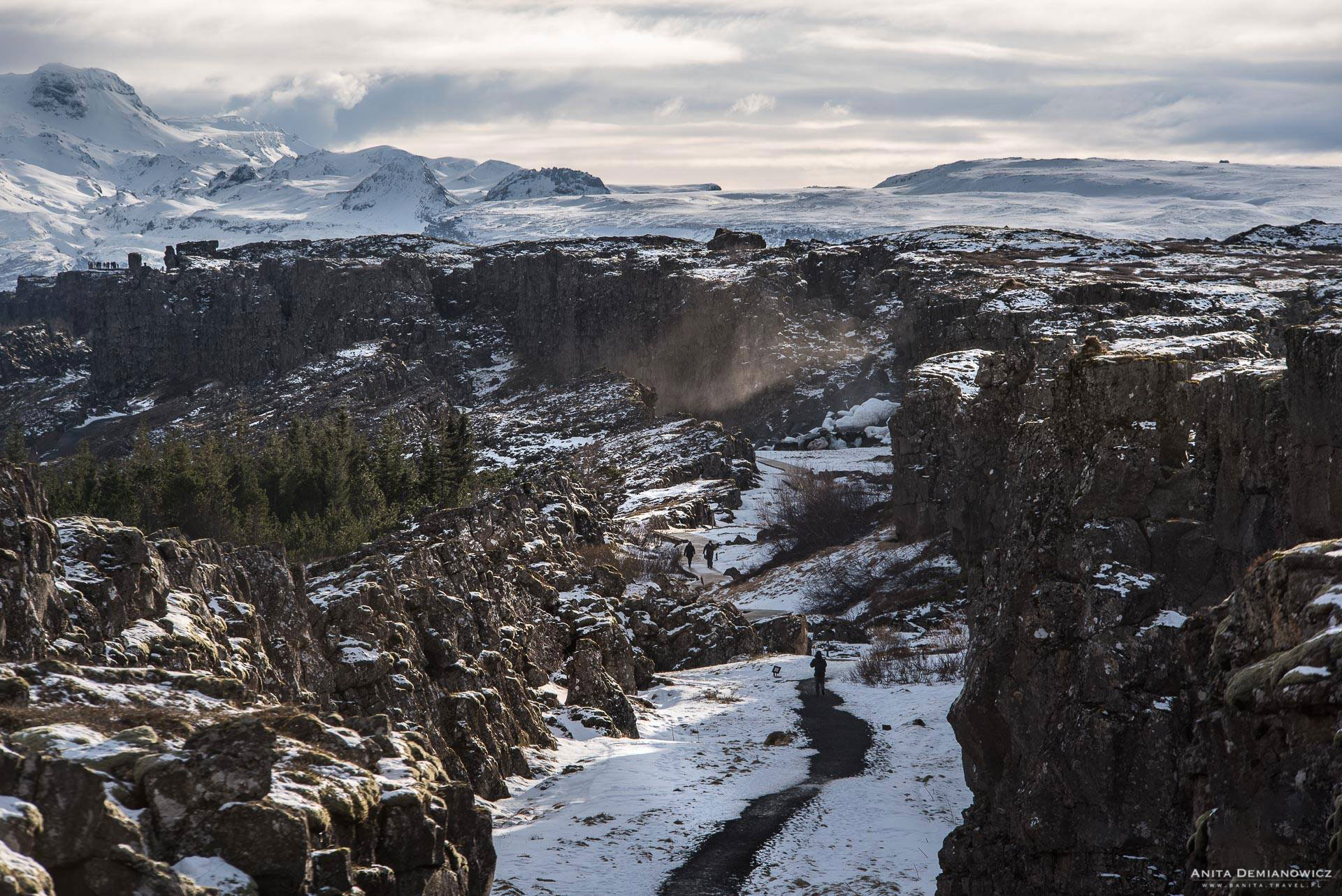 Park Thingvellir, Islandia, Anita Demianowicz