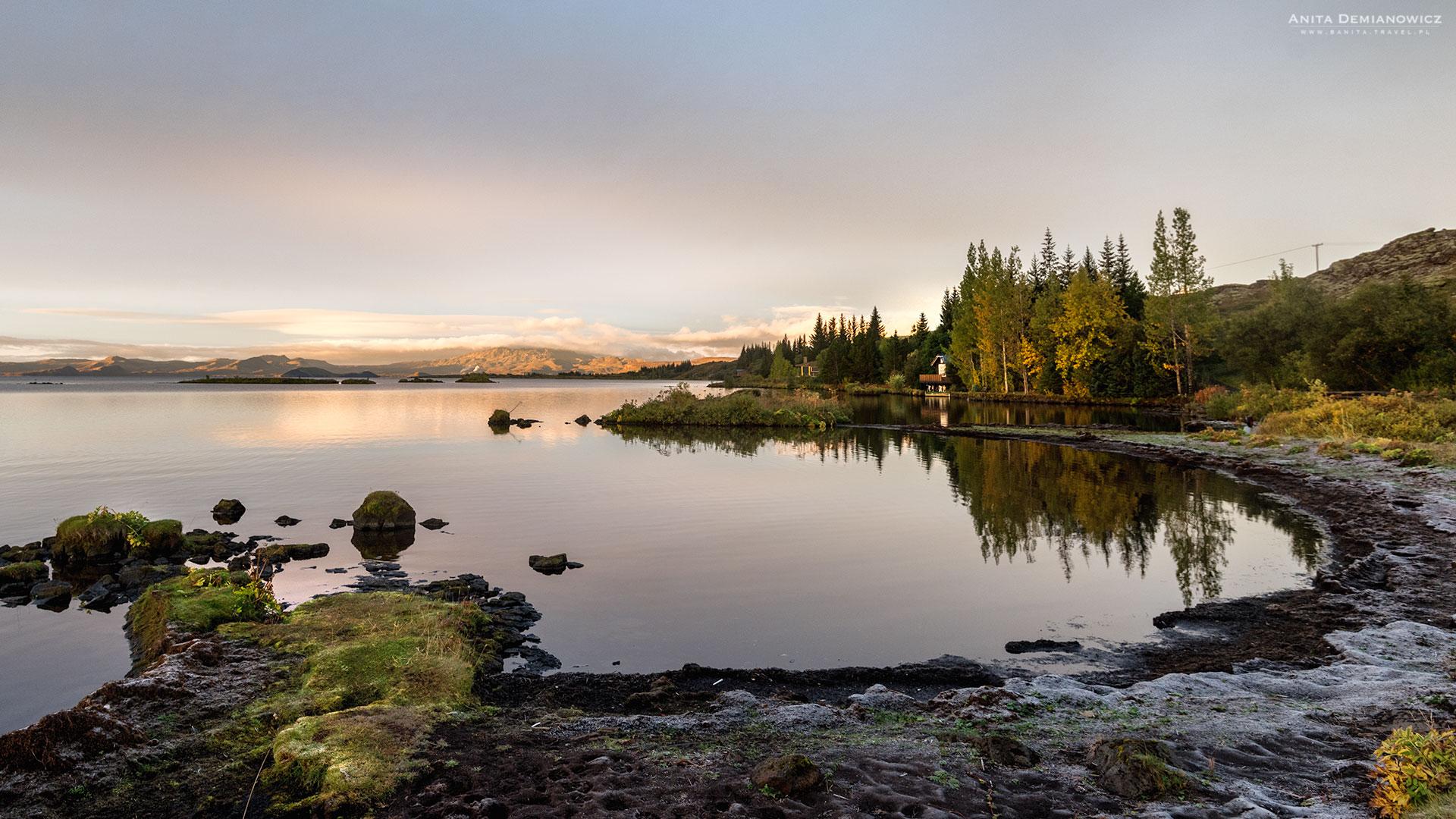 Jezioro Thingvallavatn, Islandia, Anita Demianowicz