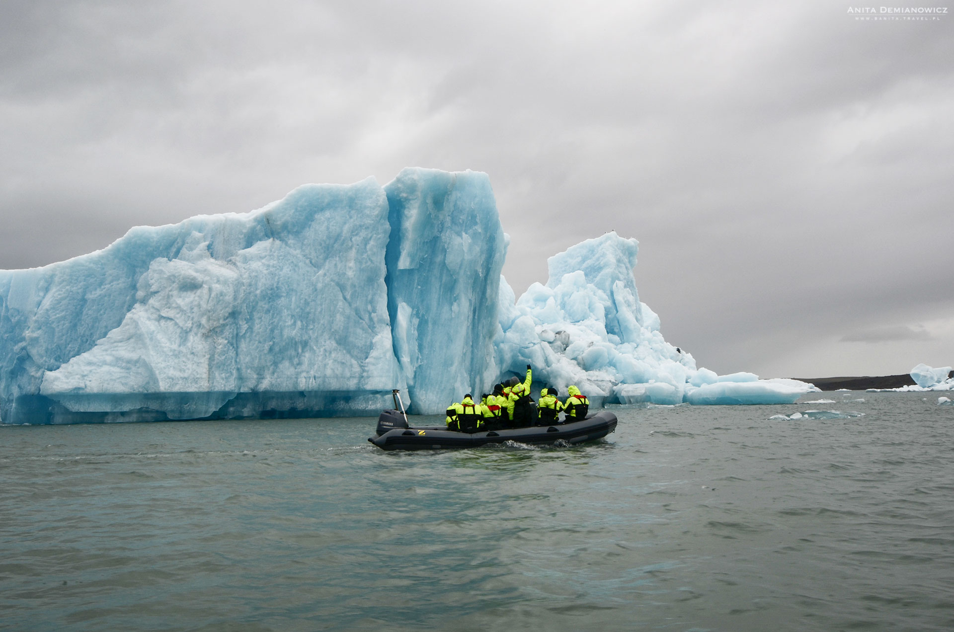 Rejs po zatoce lodowcowej Jokulsarlon