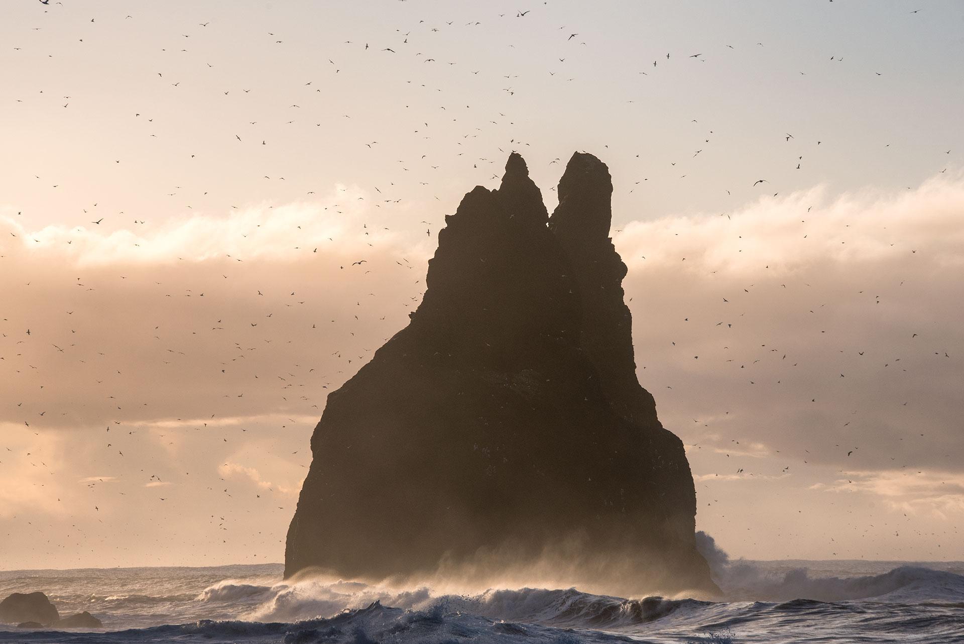 Reynisfjara, czarna plaża, Islandia, Anita Demianowicz