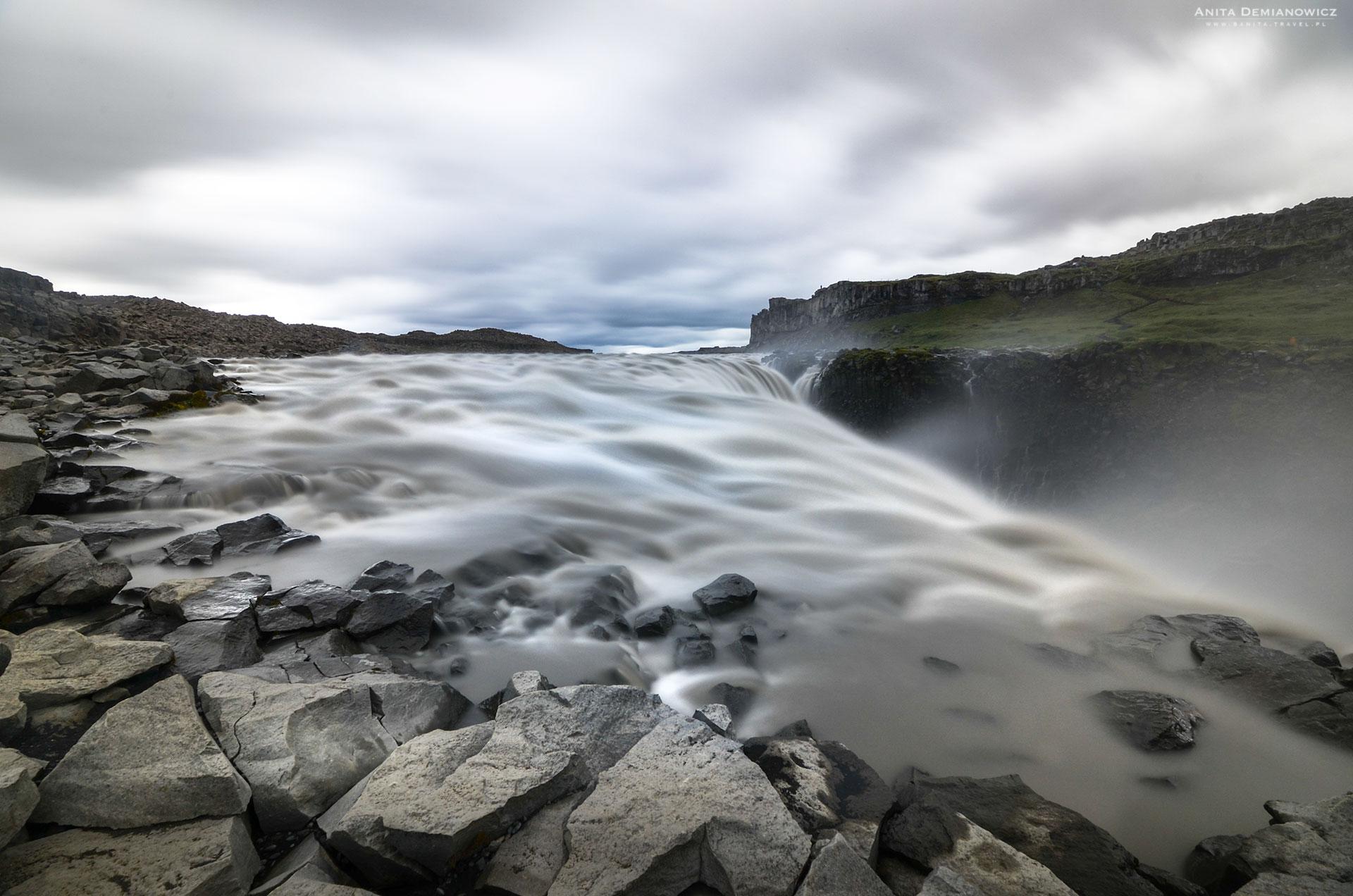 Wodospad Dettifoss, Islandia, Anita Demianowicz