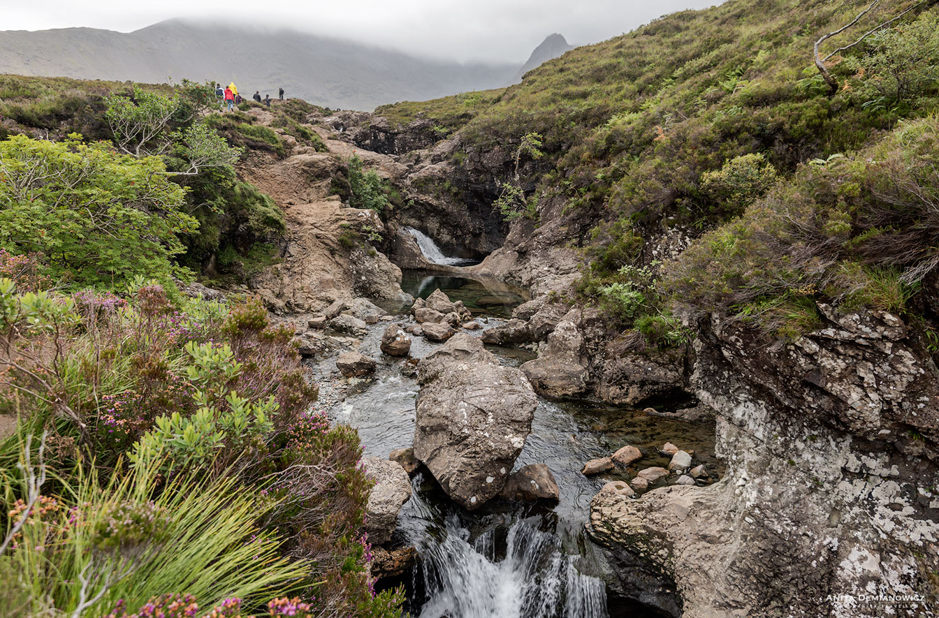 Fairy Pool, Isle of Skye, Szkocja, Anita Demianowicz