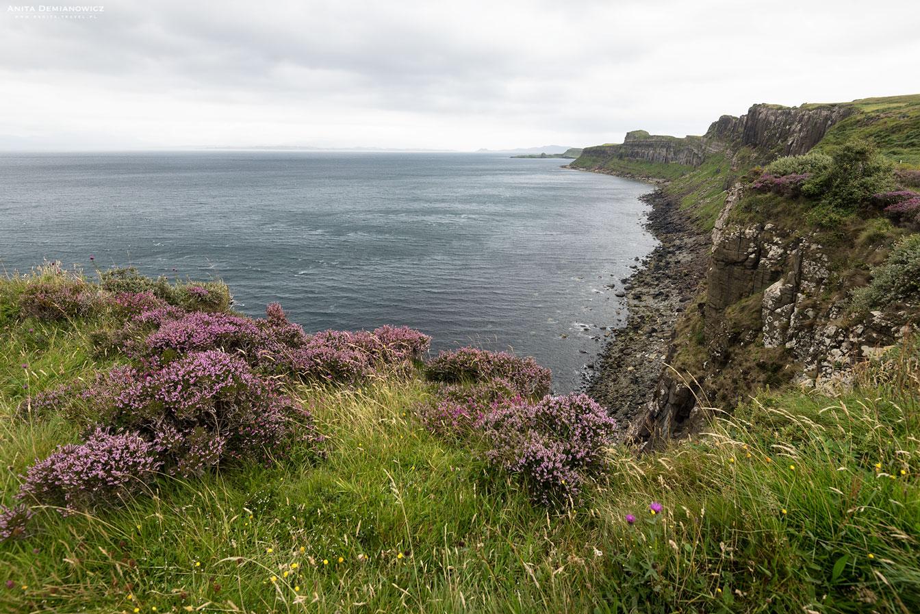 Kilt Rock, Isle of Skye, Szkocja, Anita Demianowicz