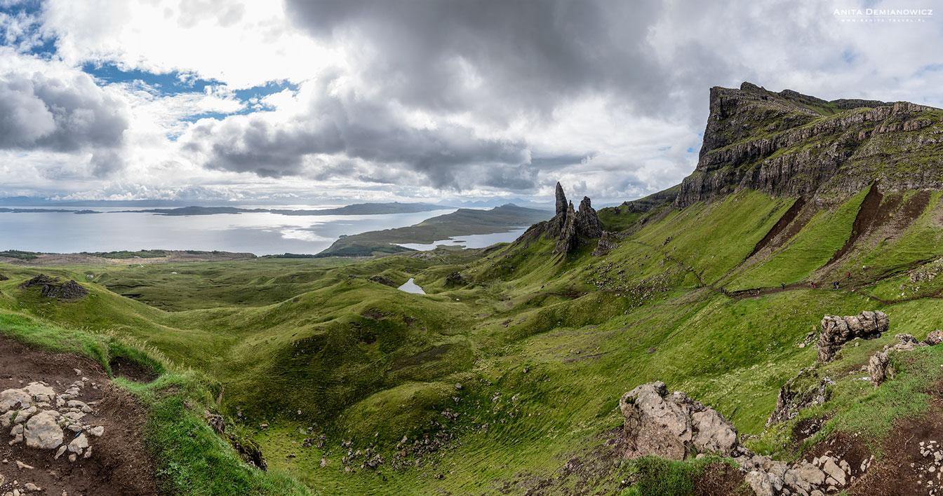 Old Man of Storr, Szkocja, Isle of Skye, Anita Demianowicz