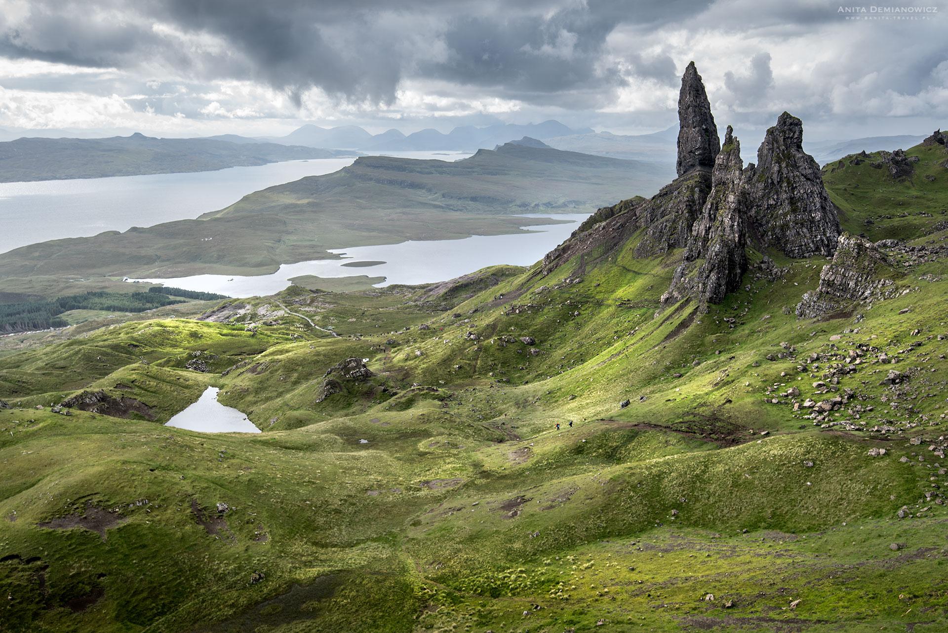 Old-Man-of-Storr, Szkocja, Isle of Skye