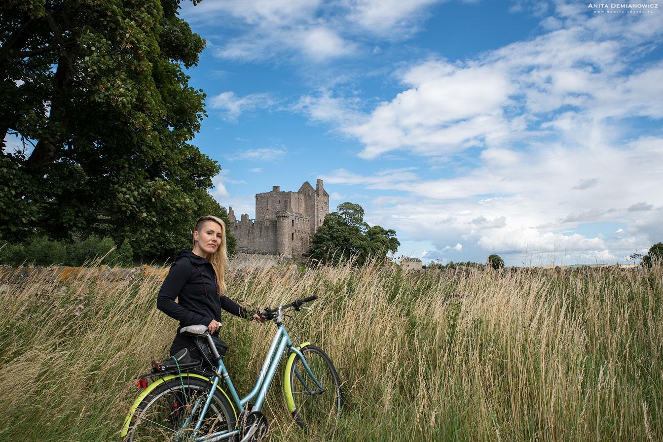 Zamek Craigmillar, Edynburg, Szkocja, Anita Demianowicz