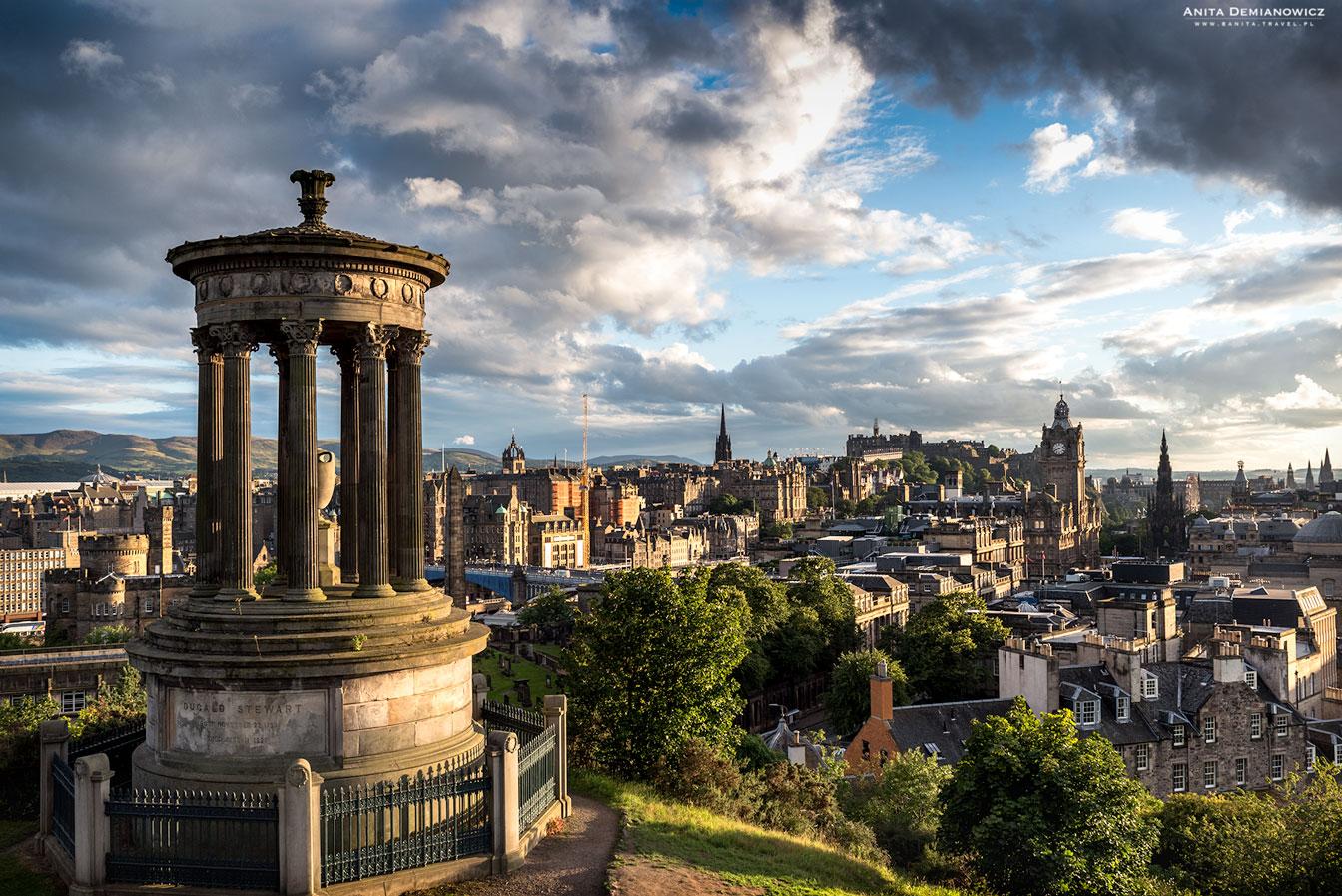Calton Hill, Szkocja, Edynburg