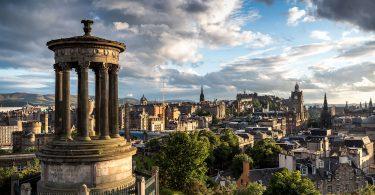 Calton Hill, Edynburg, Szkocja, Anita Demianowicz