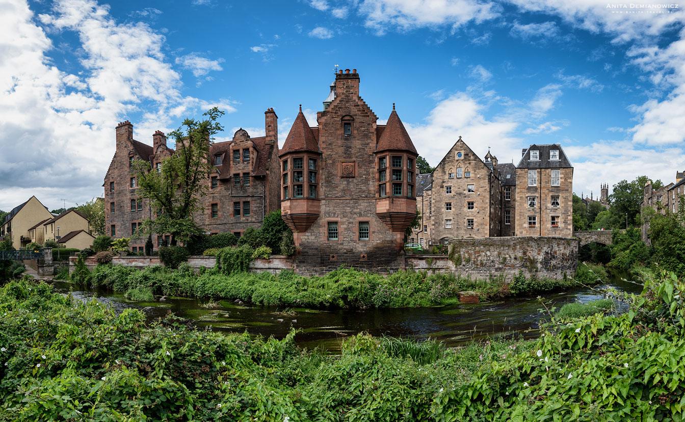 Dean Village, Edynburg, Szkocja
