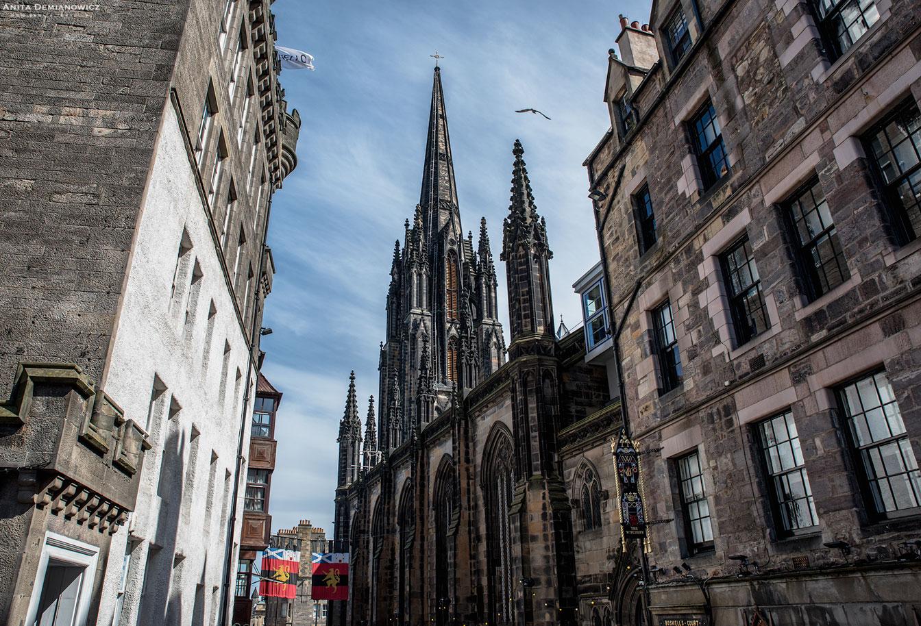 The Royal Mile, Edynburg, Szkocja, Anita Demianowicz