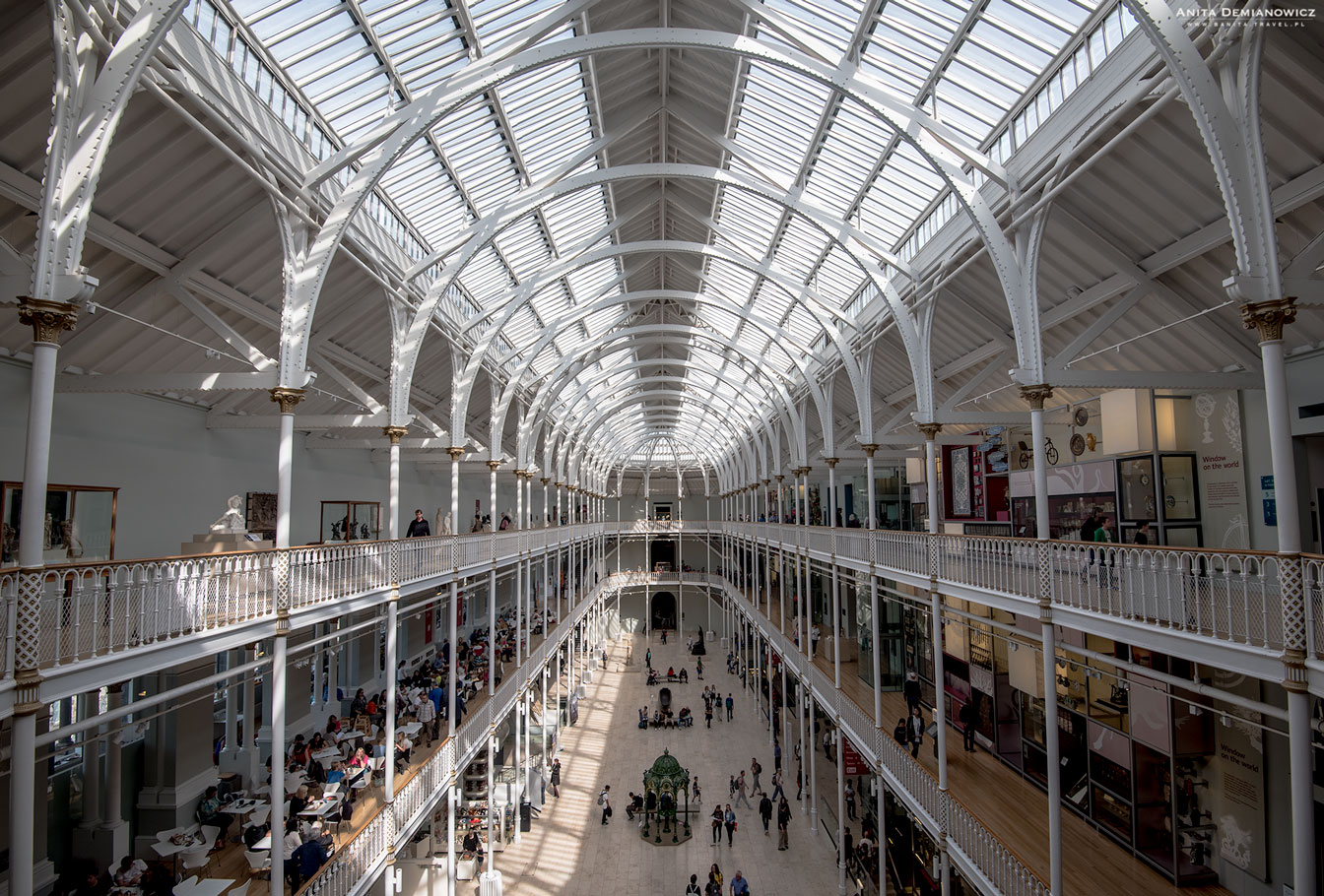 Muzeum Narodowe Szkocji, Edynburg