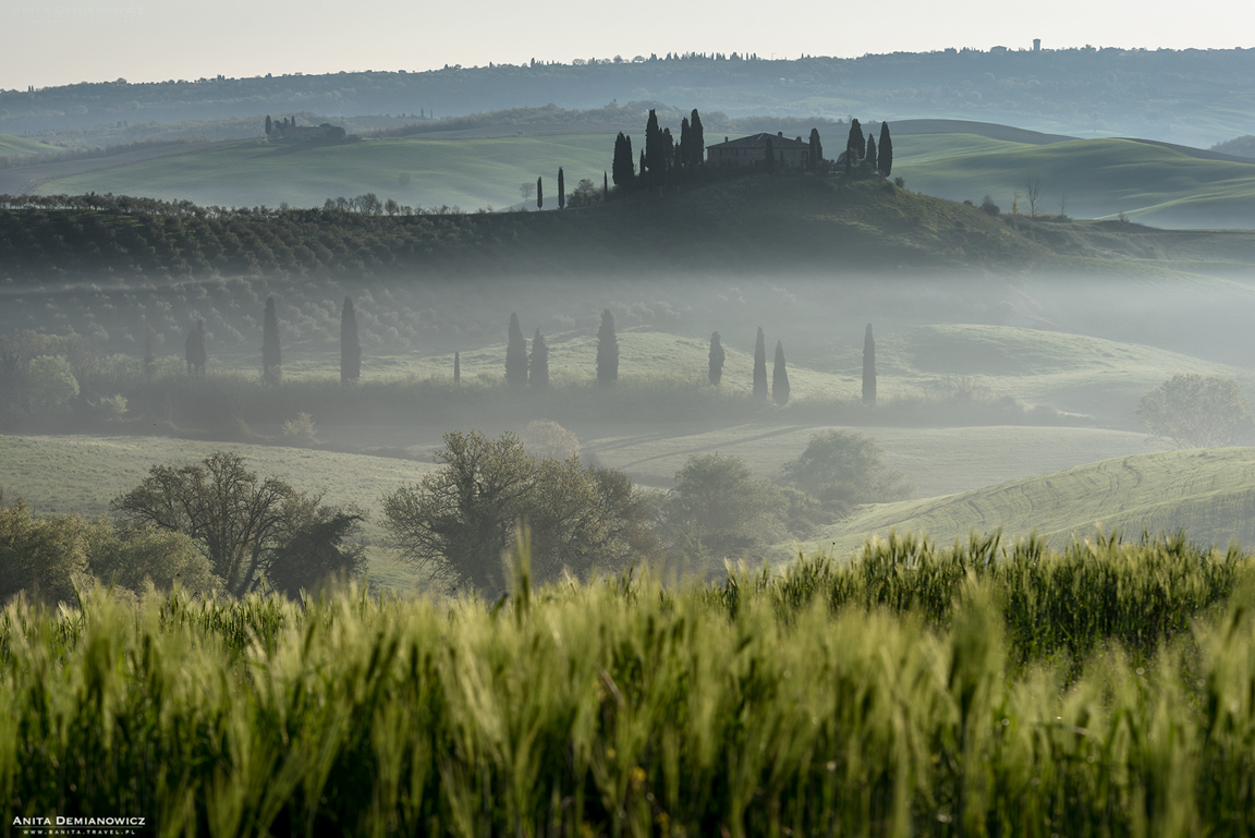 Agroturismo Baccoleno, Włochy, Italy, Toskania, Anita Demianowicz