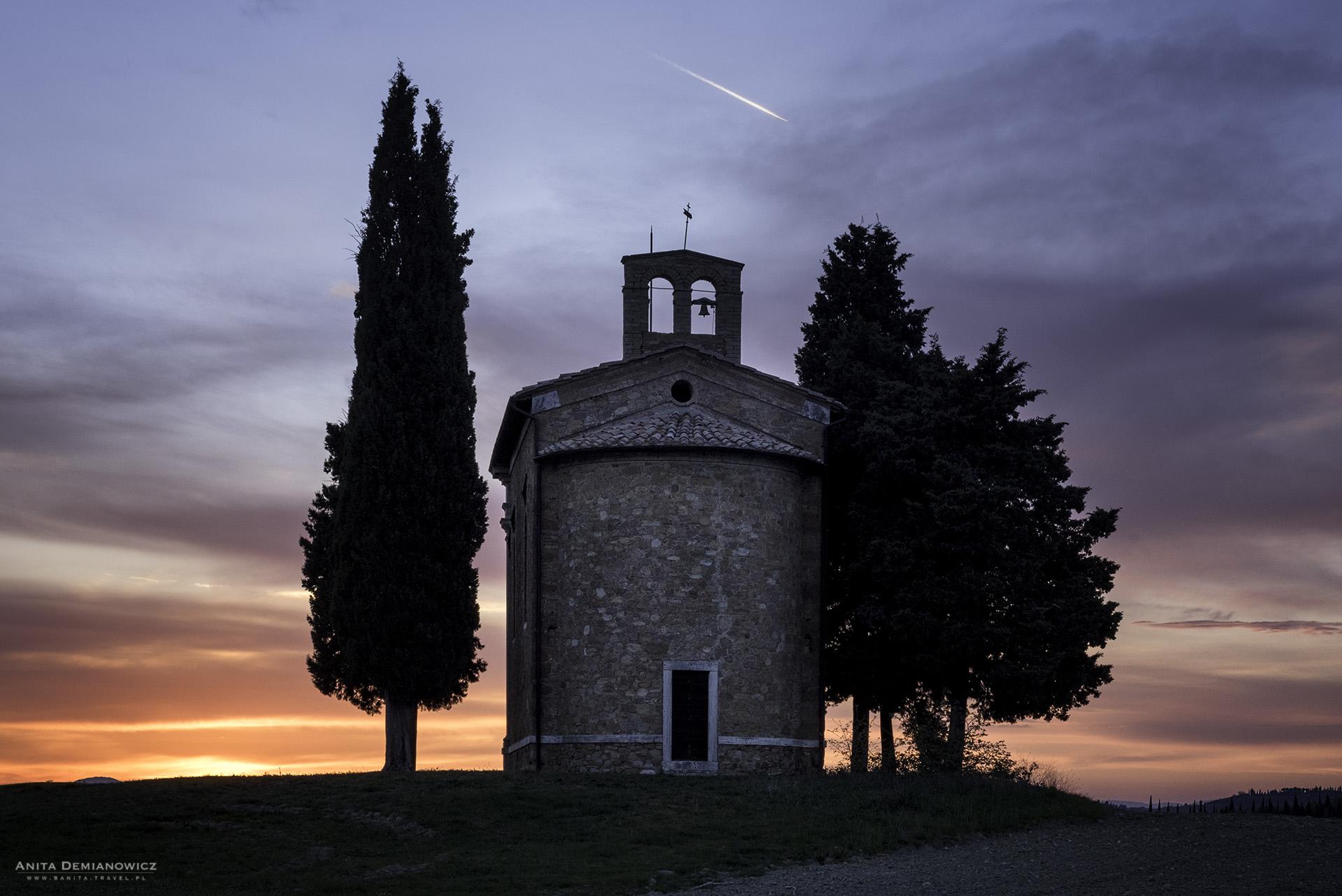 Cappella-della-Madonna-di-.Vitaleta, Toskania, Włochy, ANita Demianoiwcz2