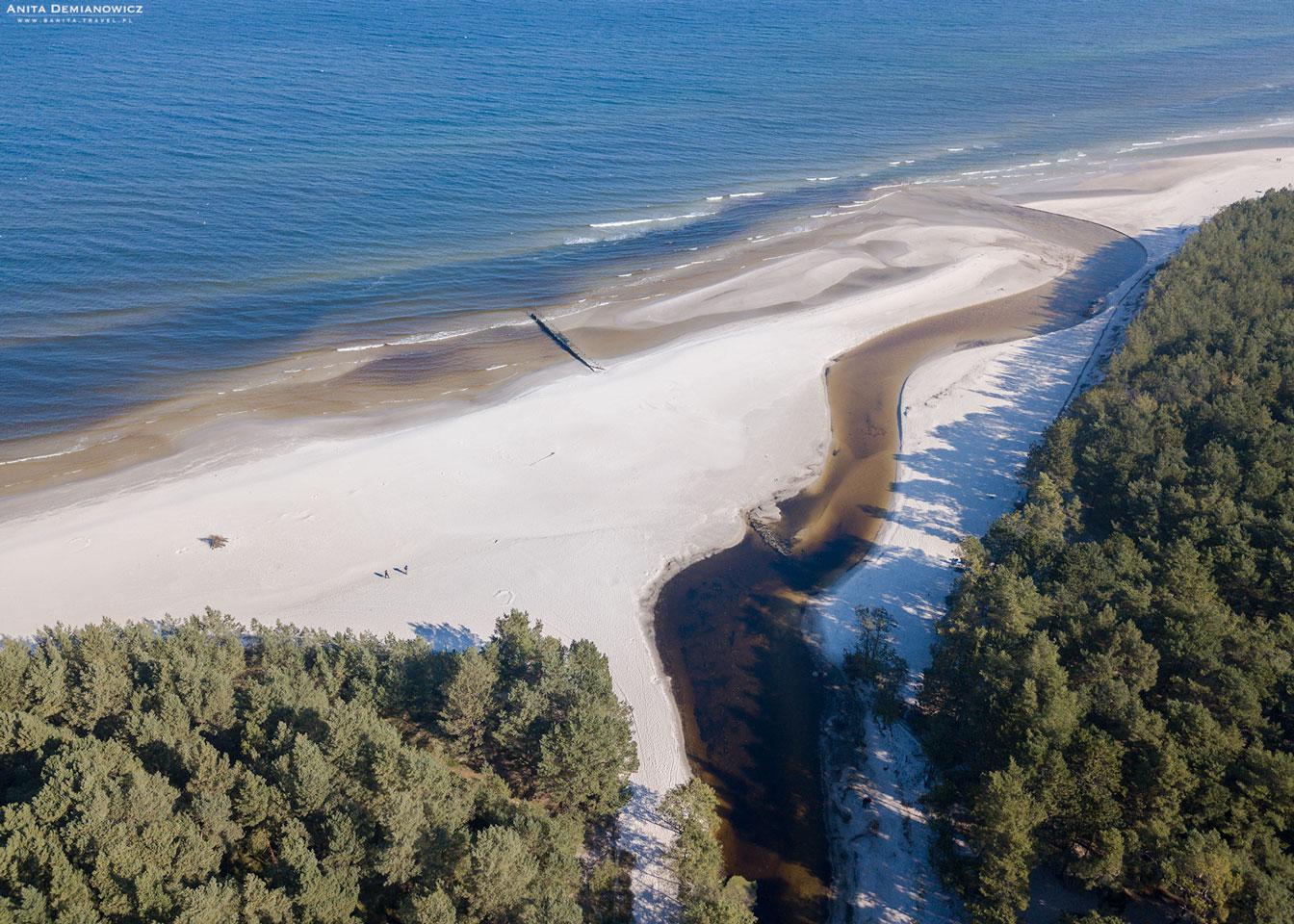 Ujście rzeki Piaśnicy