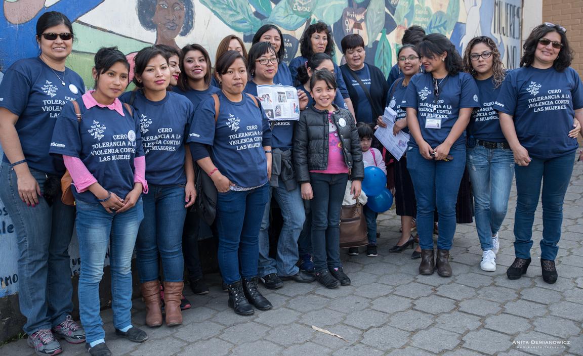 Dzień przeciwko przemocy wobec kobiet wGwatemali