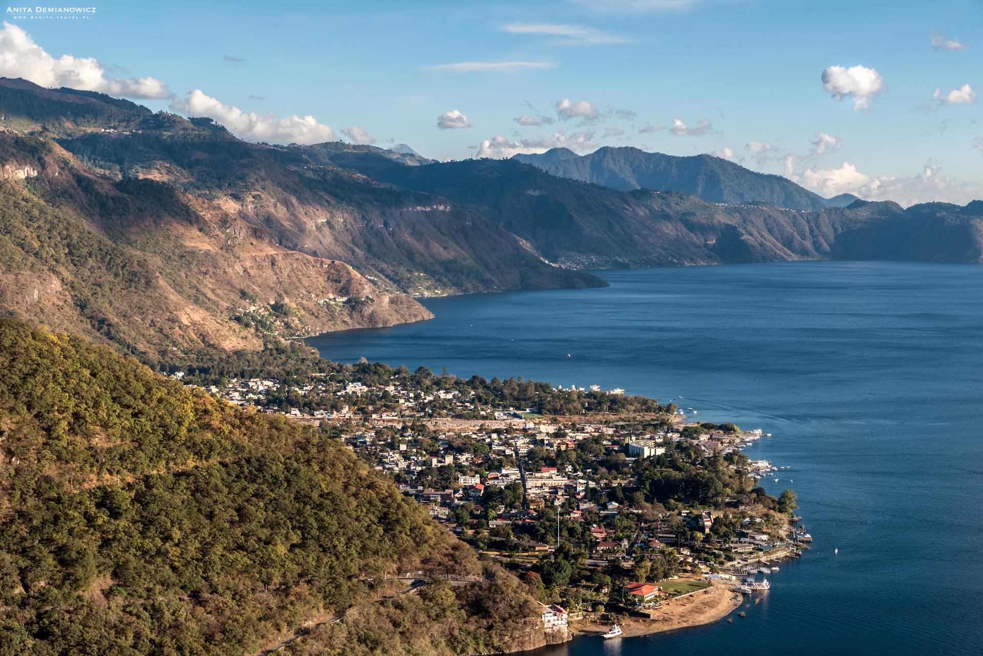 Mirador San Jorge, Jezioro Atitlan, Gwatemala