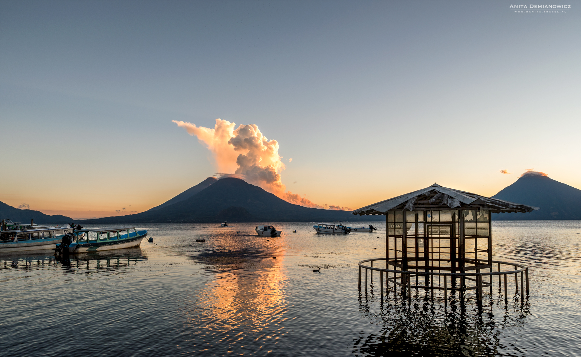Jezioro Atitlan, Gwatemala, Panajachel