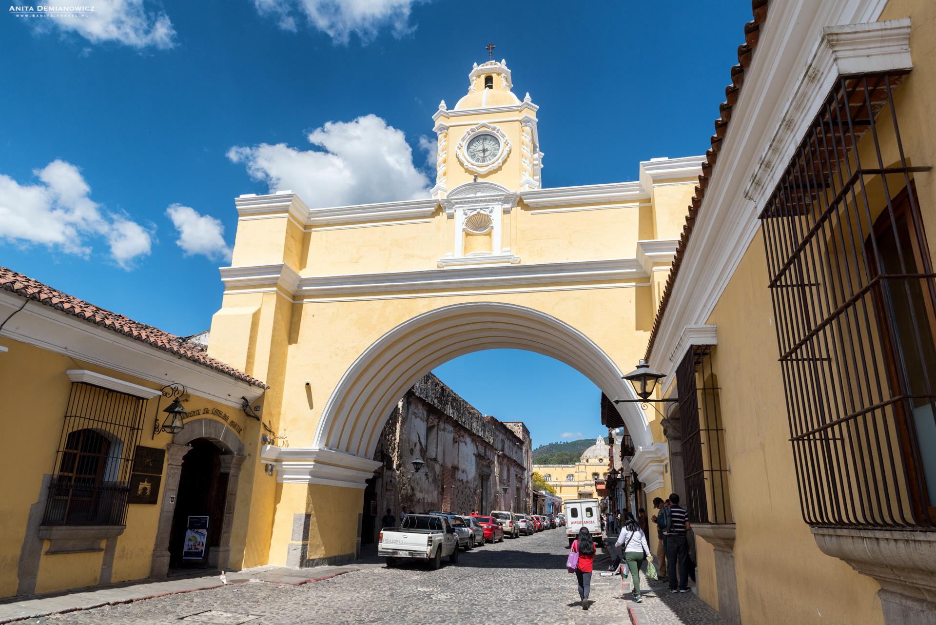 Arco-Santa-Catalina,-Gwatemala,-Antigua