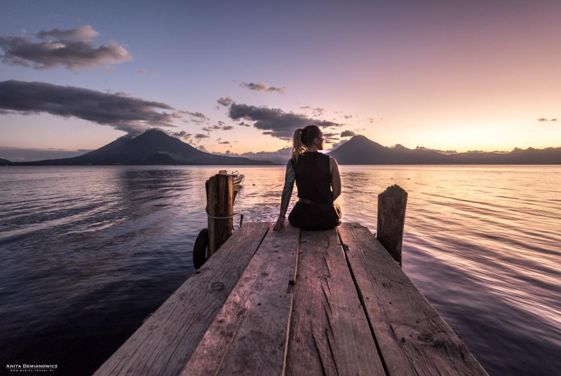 Jezioro Atitlan, Panajachel, Gwatemala