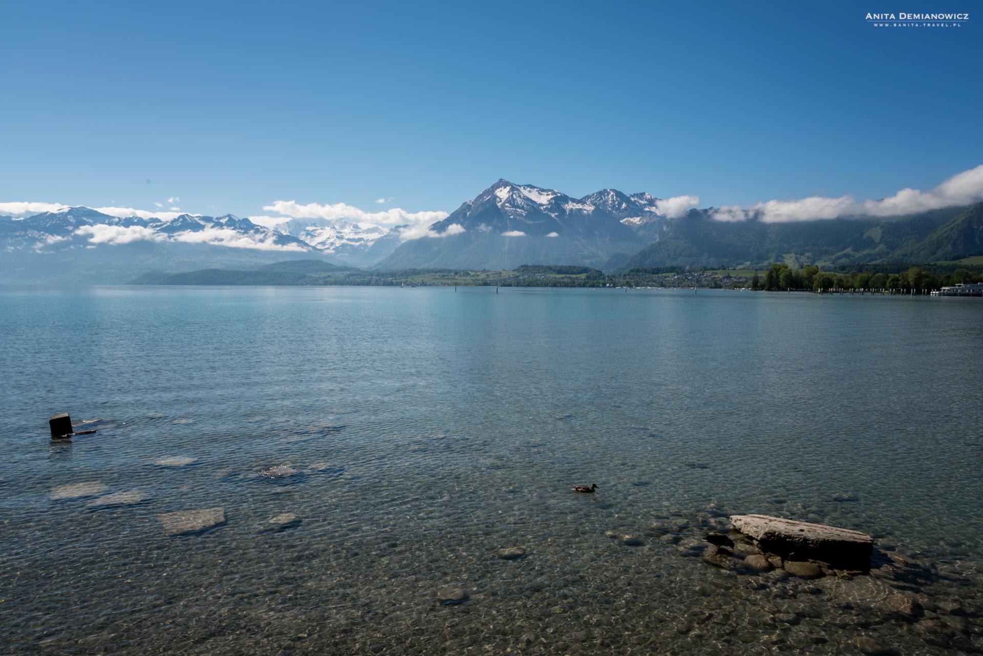 Jezioro-Thun, Szwajcaria
