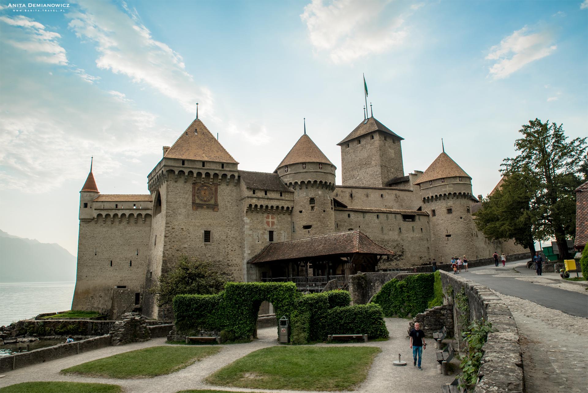 Zamek-Chillon,-Montreux