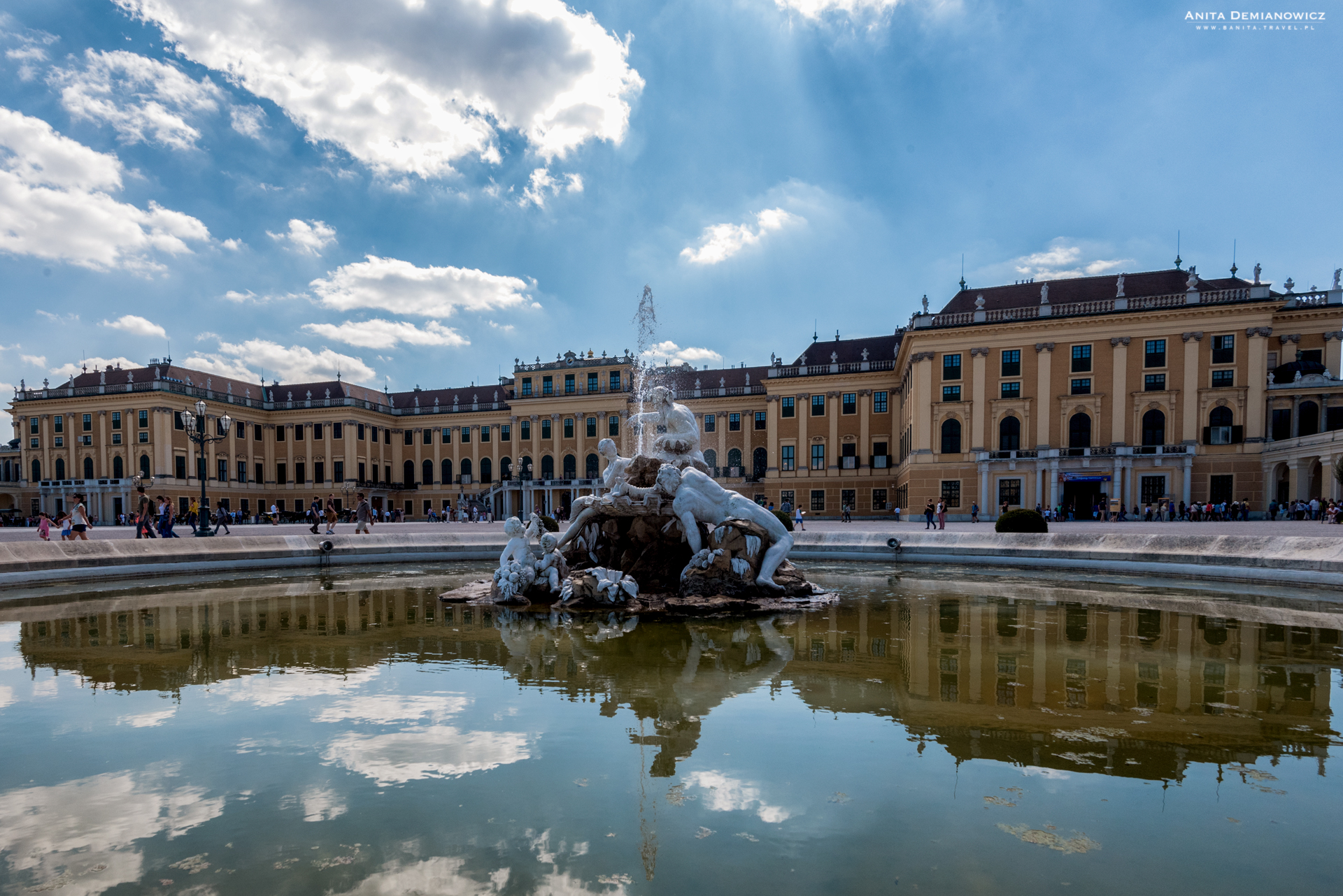 Pałac Schönbrunn, Austria, Vienna