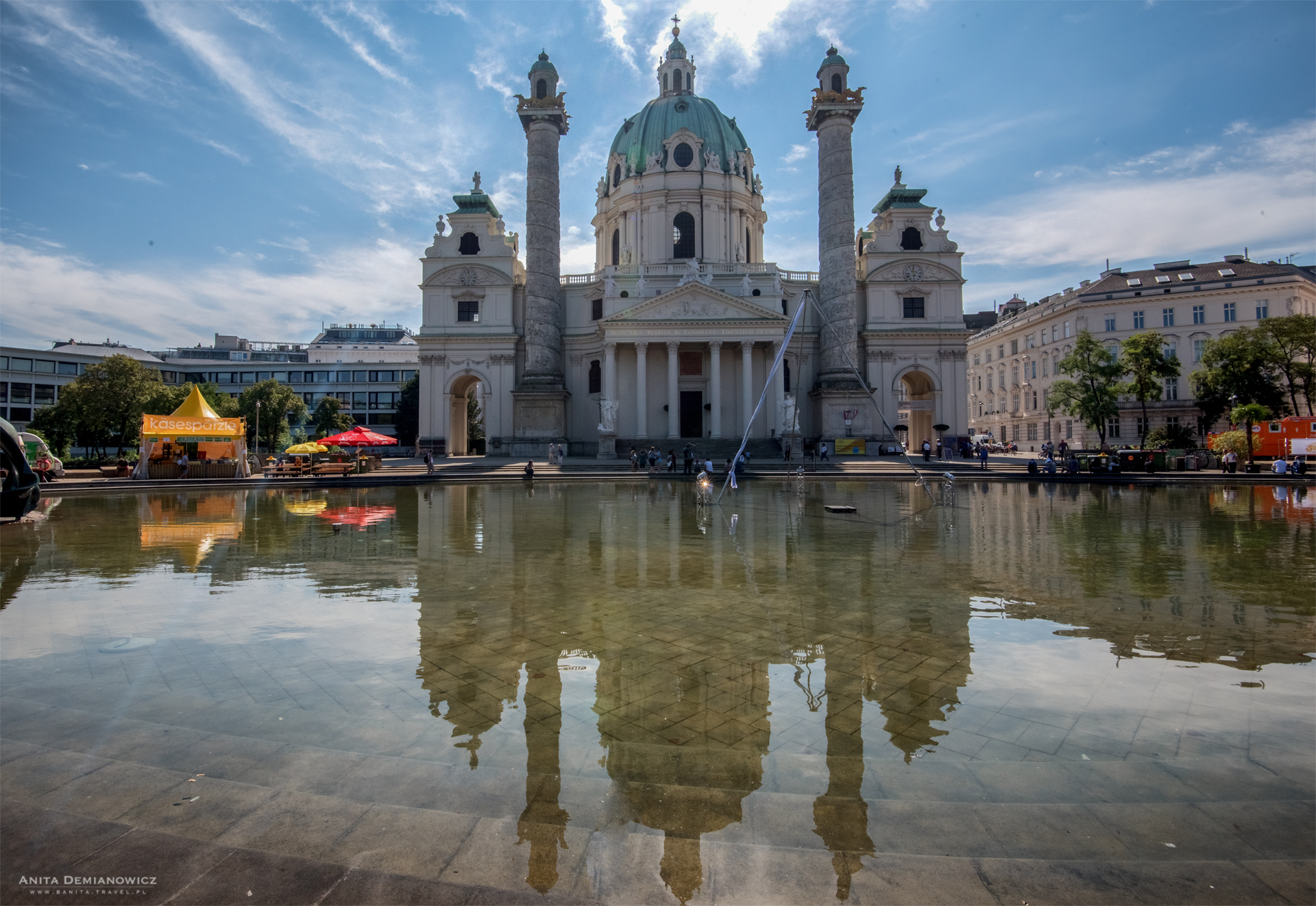 Kościół św.Karola Boromeusza (Karlskirche)