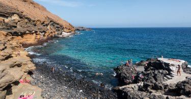 Playa Amarilla, Teneryfa, Wyspy Kanaryjskie