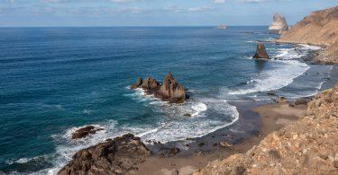 Playa Benijo, Teneryfa, Wyspy Kanaryjskie