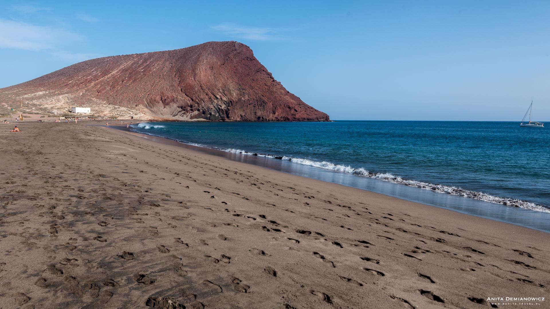 Playa Tejita, Teneryfa, Wyspy Kanaryjskie