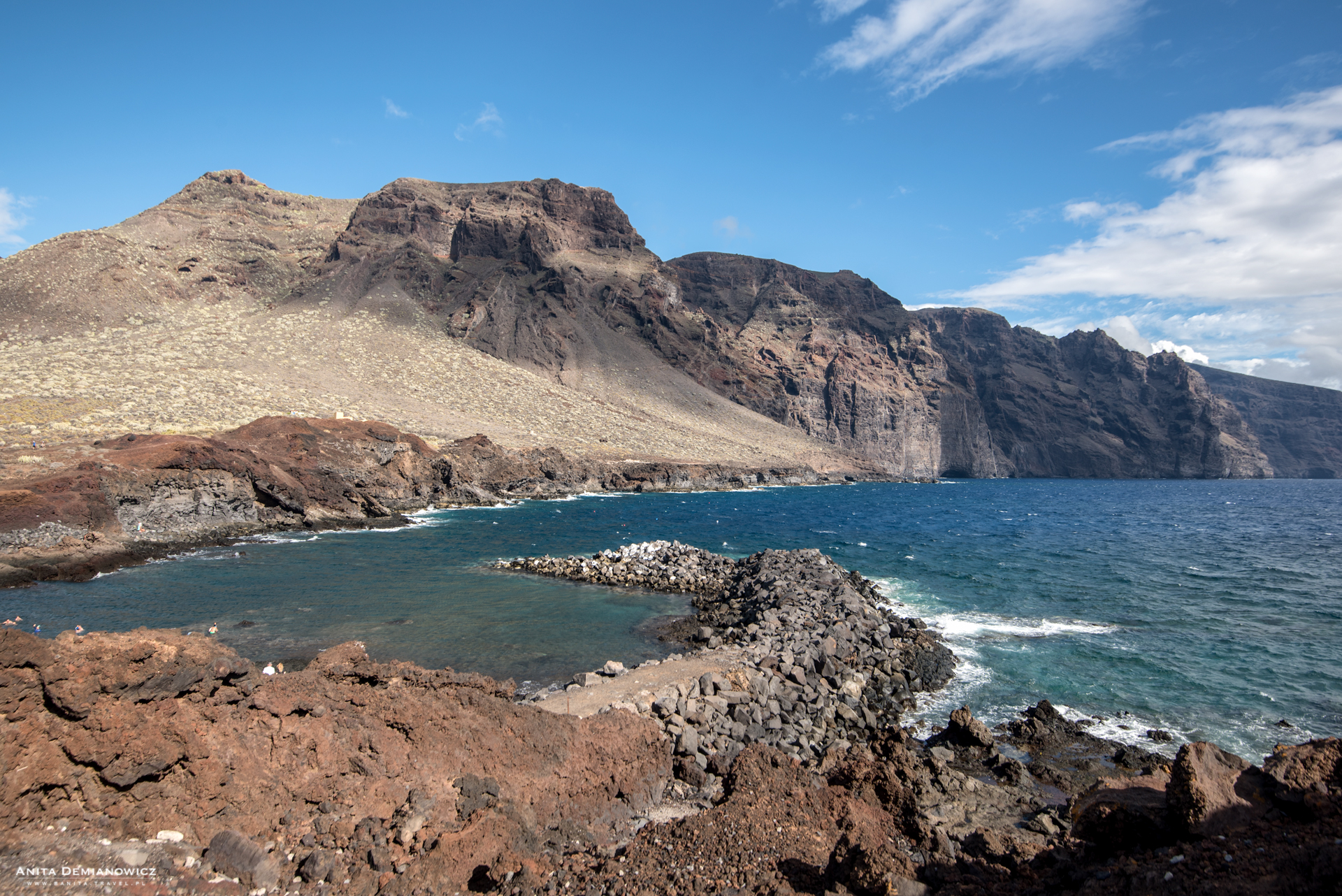 Punta Del Teno, Teneryfa, Wyspy Kanaryjskie